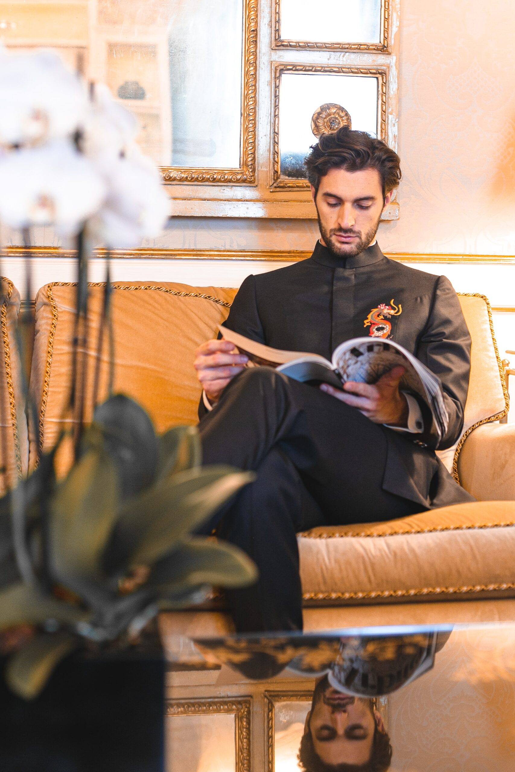 Franco Puppato at Hotel Danieli at Venice Fashion Week by @itsmartaeffe